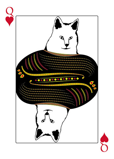 Cat Jack of Spades